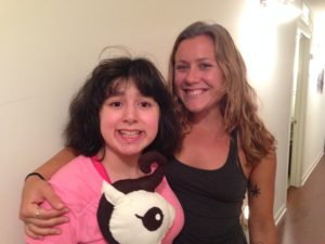 Anna with Son-Rise program participant, Alexis.