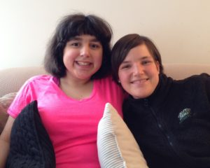 Son-Rise Participant Seraphina with Anna 2016-02